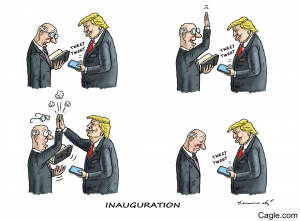 Amtseinführung von Donald Trump
